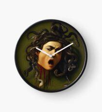 Medusa by Caravaggio Clock