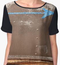 """Fisherman Beach"" Women's Chiffon Top"