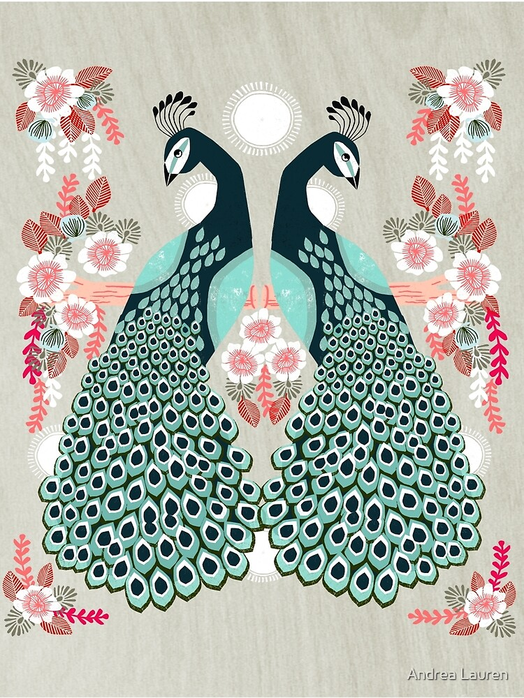Peacocks by Andrea Lauren  by papersparrow