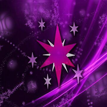 Twilight Sparkle Cutie Mark by TickleBerryDude