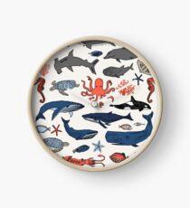 Ocean Animals by Andrea Lauren Clock