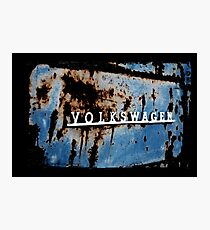 VW Rusted Photographic Print