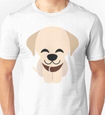 Labrador Retriever Emoji Delighted Cheerful Look T-Shirt