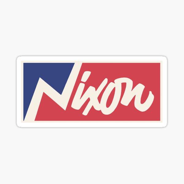 Vintage Nixon Sticker Sticker