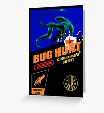 Aliens - Bug Hunt Greeting Card