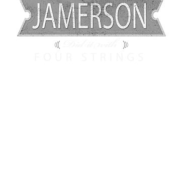 Jamerson Four-String King by mikedm