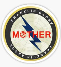 Franklin Badge Sticker