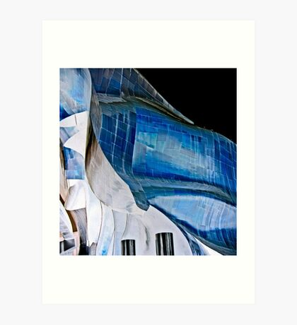gehryscape Art Print