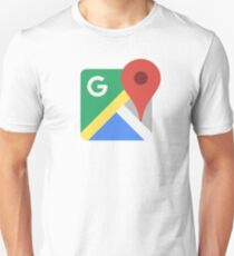 Google Maps Unisex T-Shirt