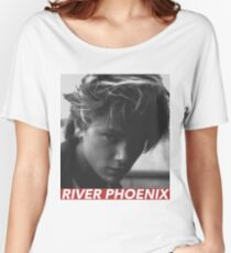 RIVER PHOENIX Women's Relaxed Fit T-Shirt
