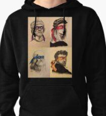 TMNT as Real Masters Pullover Hoodie