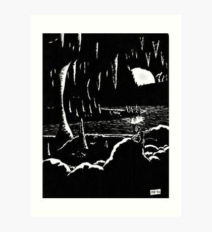 The Swimming Hole Art Print