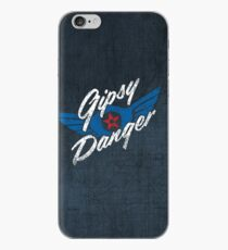 Gipsy Danger - white text iPhone Case