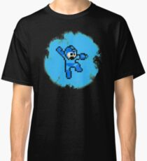 Mega Man Jumps and Shoots Classic T-Shirt