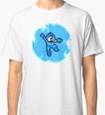 Mega Man Jumps and Shoots Classic T-Shirt