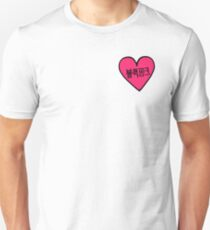 BLACKPINK 블랙핑크 Hangul Heart Patch kpop T-Shirt