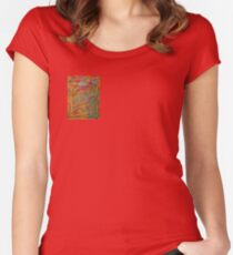 Autumn Sky Women's Fitted Scoop T-Shirt