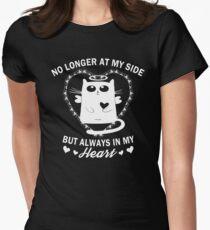 Always In My Heart - Cat Memorial Women's Fitted T-Shirt