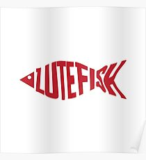 Lutefisk Fish Poster