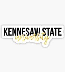 Kennesaw State University - Style 13 Sticker