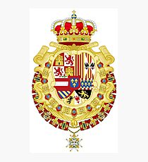 Coat of Arms of Spain under King Philip V Photographic Print