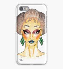 Emerald Earrings  iPhone Case/Skin