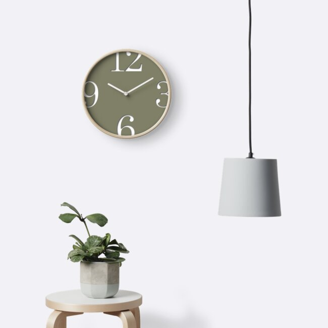 Clock – Overflow by studio228