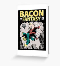 Bacon Fantasy #15 Greeting Card
