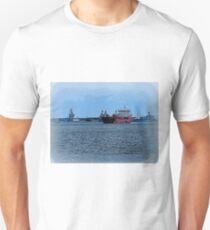 Freighter Coming Through - 6063a T-Shirt