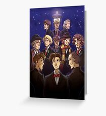 "Doctor Who Medley (""50 Years of Doctor Who"" without Captions) Greeting Card"