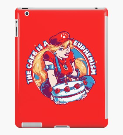 The Cake is a Euphemism iPad Case/Skin