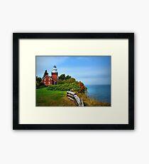 Big Bay Lighthouse Framed Print