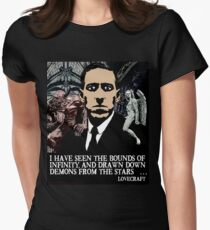 LOVECRAFT DEMONS Women's Fitted T-Shirt