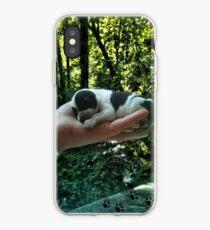 Ich verlasse Fußabdrücke in deinem Herzen, sogar während ich schlafe >> DAS LEBEN IST KOSTBAR >> DOG-CANINE BILD UND ODER KARTE EC. iPhone-Hülle & Cover