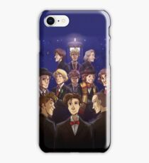 "Doctor Who Medley (""50 Years of Doctor Who"" without Captions) iPhone Case/Skin"