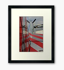 That Candy Has Stripes! Framed Print