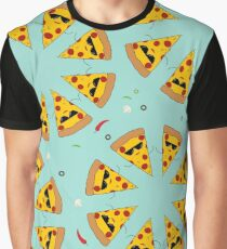 Pizza Circles Graphic T-Shirt