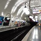 Cité  Metro Station - Paris. by John Sharp