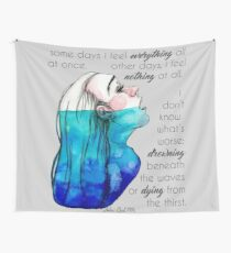 Drowning in Depression (2016) REVAMP Wall Tapestry