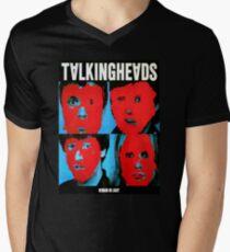 Talking Heads Remain in Light Mens V-Neck T-Shirt