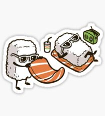 Sushi on the Beach Sticker