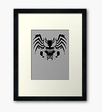 Rorschach Symbiote Framed Print