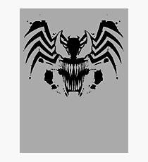 Rorschach Symbiote Photographic Print