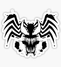 Rorschach Symbiote Sticker