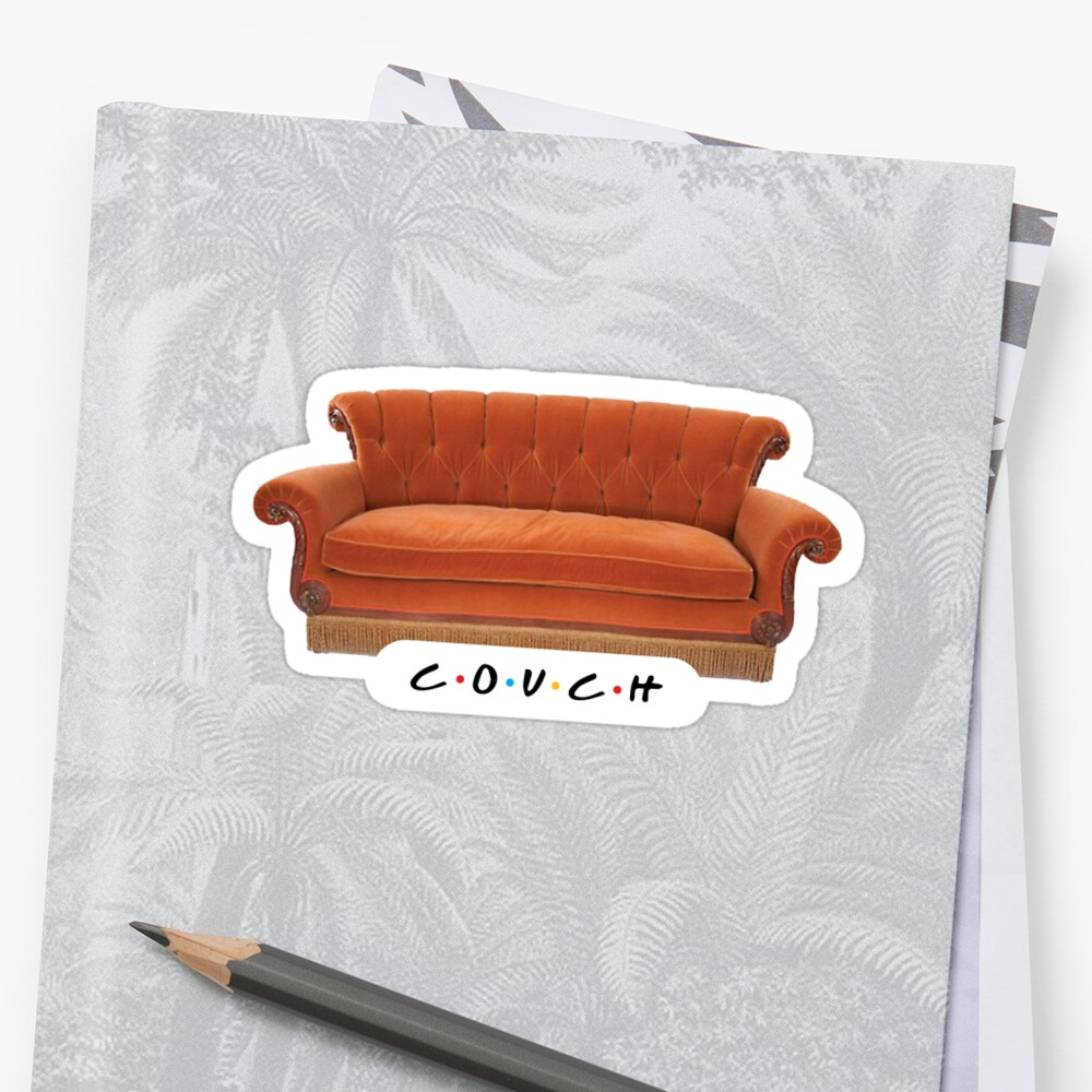 Friends – Couch Sticker by studio228