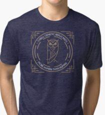 Camiseta de tejido mixto ¿Te gusta nuestro búho?