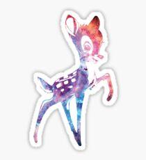 Space Bambi | Rosette Nebula Sticker