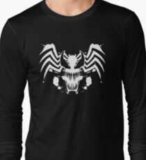 Rorschach Symbiote black Long Sleeve T-Shirt