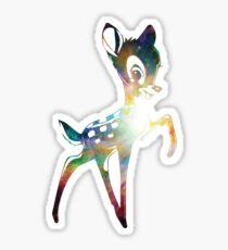Space Bambi   Heart of Omega Nebula Sticker
