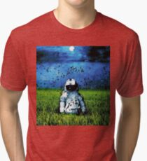 Deja Entendu (Blue) Tri-blend T-Shirt